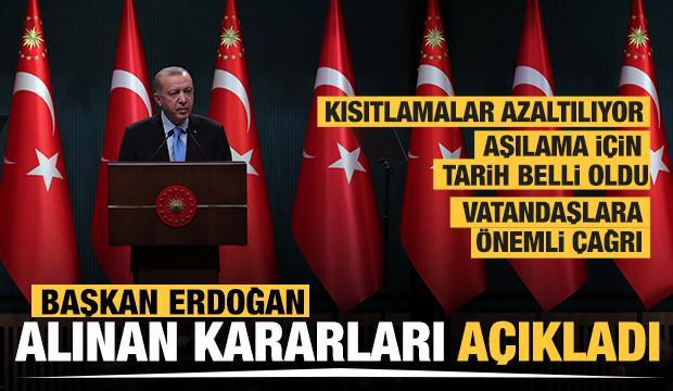 Son Dakika... Kabine toplantısının ardından Başkan Erdoğan alınan kararları açıkladı