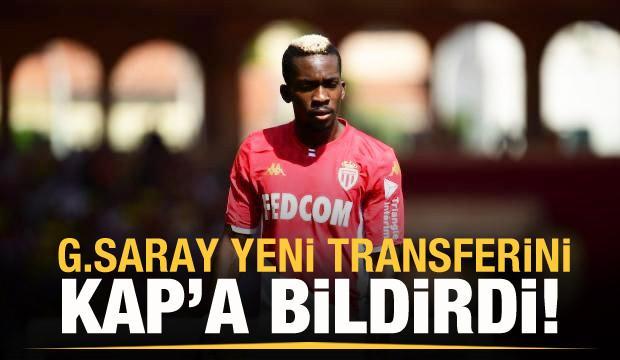 Galatasaray, Onyekuru'yu KAP'a bildirdi!