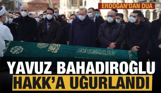 Yavuz Bahadıroğlu son yolculuğuna uğurlandı