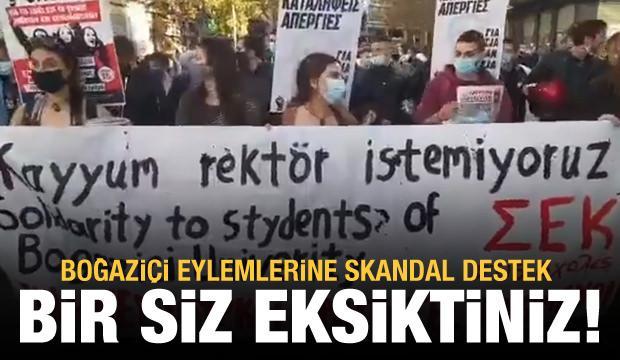 Boğaziçi eylemlerine Yunanistan'dan skandal destek! (6 Şubat 2021 Günün Önemli Gelişmeleri)