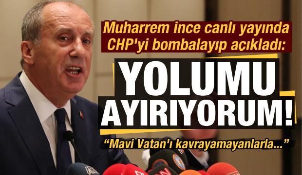 Son dakika: Muharrem İnce CHP'den istifa etti! Basın açıklamasında duyurmuştu...