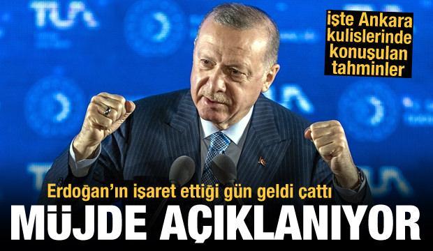 Son dakika: Türkiye Erdoğan'ın bugün açıklayacağı müjdeyi bekliyor, işte kulislerdeki tahminler