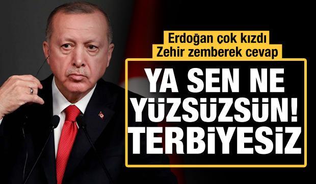 Erdoğan'dan Kılıçdaroğlu'na zehir zemberek cevap: Terbiyesiz adam!