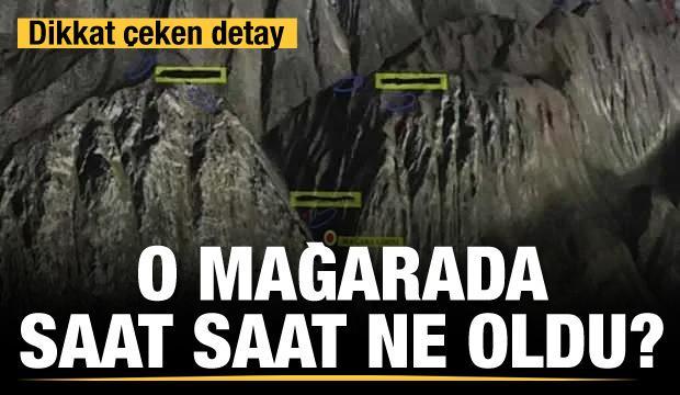 O mağarada saat saat ne oldu?