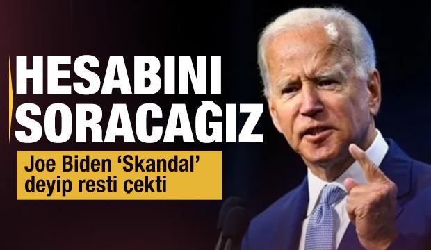 Joe Biden: Suudi Arabistan'dan hesap soracağız