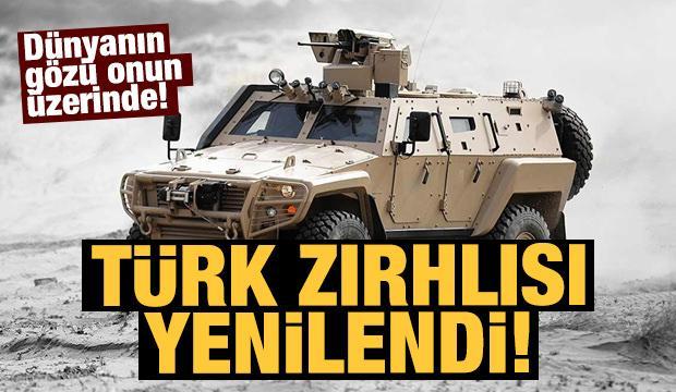 Türk zırhlısı Cobra II en tehlikeli görevler için geliştirildi!