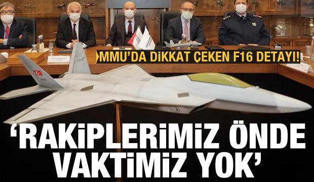 TUSAŞ'tan Milli Muharip Uçak açıklaması: Duracak vaktimiz yok