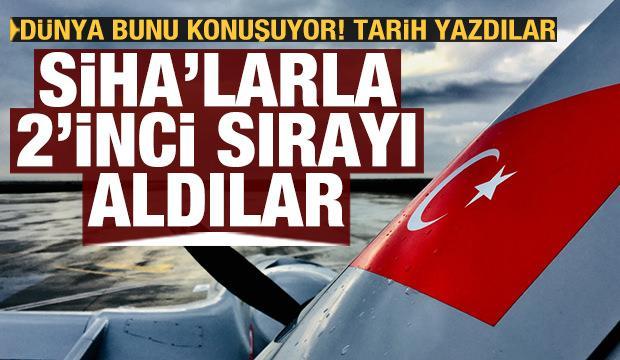 Türk SİHA'larının etkisi çok büyük! İkinci sırayı aldılar