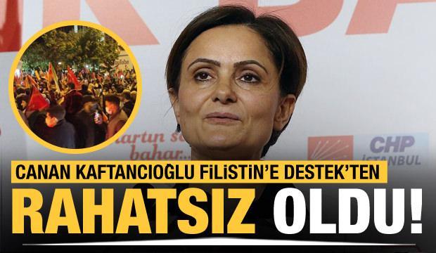 Canan Kaftancıoğlu, İsrail protestolarından rahatsız oldu!