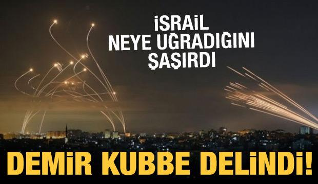 Demir Kubbe delindi: İsrail 920 füzeyi engelleyemedi