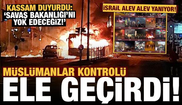 Son dakika: İsrail'de şok! Filistinliler işgal altındaki şehirleri ele geçiriyor
