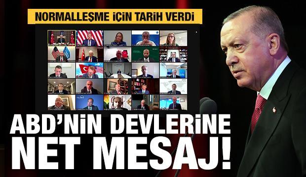 Başkan Erdoğan: Haziran'da ülke genelinde normalleşmeyi hedefliyoruz