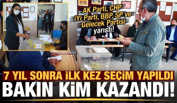 Son dakika: AK Parti, CHP, İYİ Parti, BBP, SP ve Gelecek Partisi yarıştı! İşte kazanan...