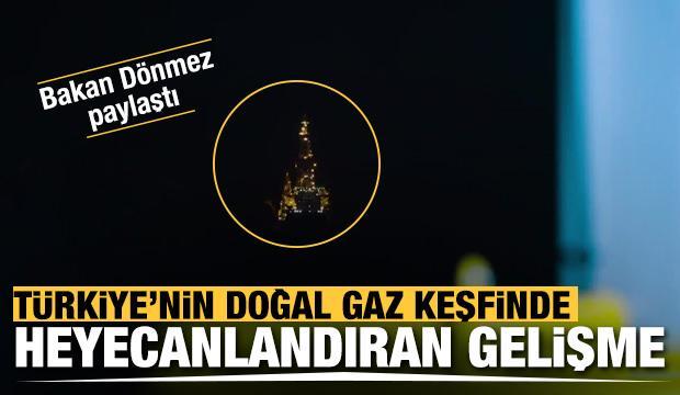 Bakan Dönmez'den Karadeniz'deki yeni gaz keşfi ile ilgili paylaşım: Bir adım daha...