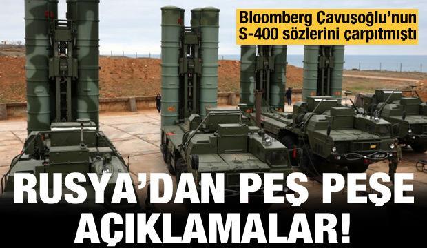 Son dakika: Bloomberg'in S-400 iddiasına Rusya'dan yalanlamalar peş peşe!
