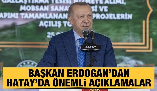 Başkan Erdoğan: AK Parti ile Türkiye'nin kaderi bütünleşmiştir