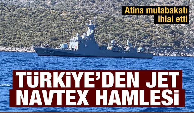 Türkiye'den son dakika NAVTEX kararı