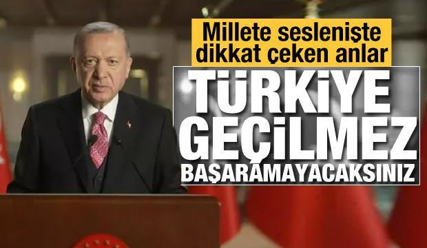 Son dakika haberi: Cumhurbaşkanı Erdoğan'dan millete sesleniş