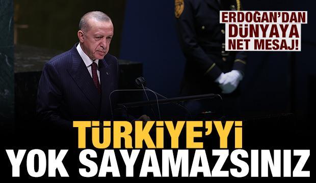Son dakika: Erdoğan'dan Doğu Akdeniz mesajı: Türkiye'yi yok sayan anlayıştan vazgeçilmeli