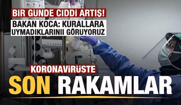 Son dakika: 27 Eylül koronavirüs tablosu açıklandı! Yeniden yükselişte!