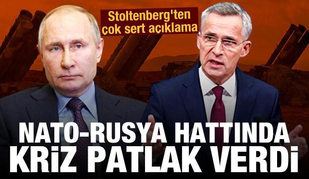 NATO-Rusya hattında kriz patlak verdi! Stoltenberg'ten çok sert açıklama