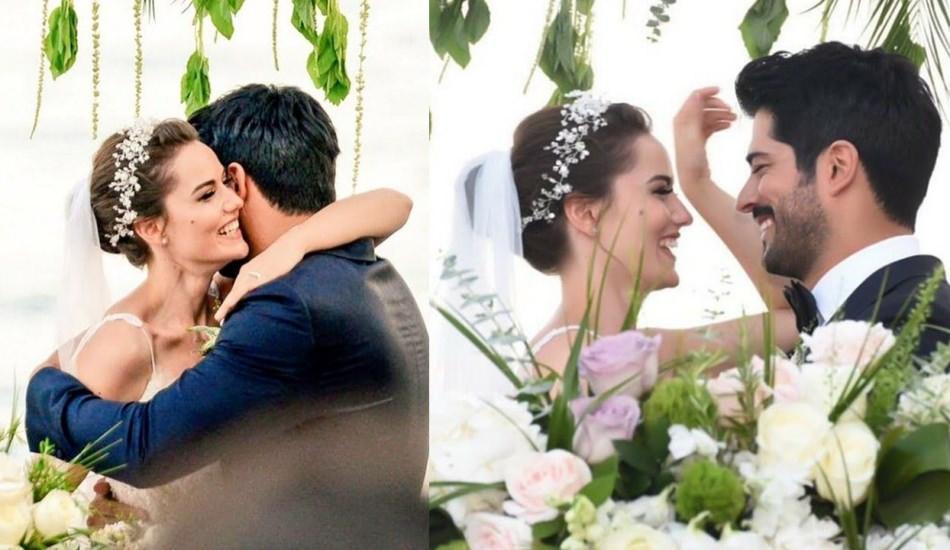 Бурак озчивит и фахрие эвджен свадьба фото